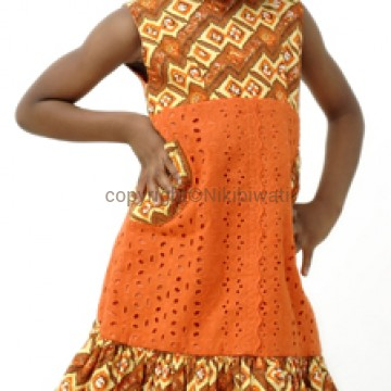 Baby doll Patch dress